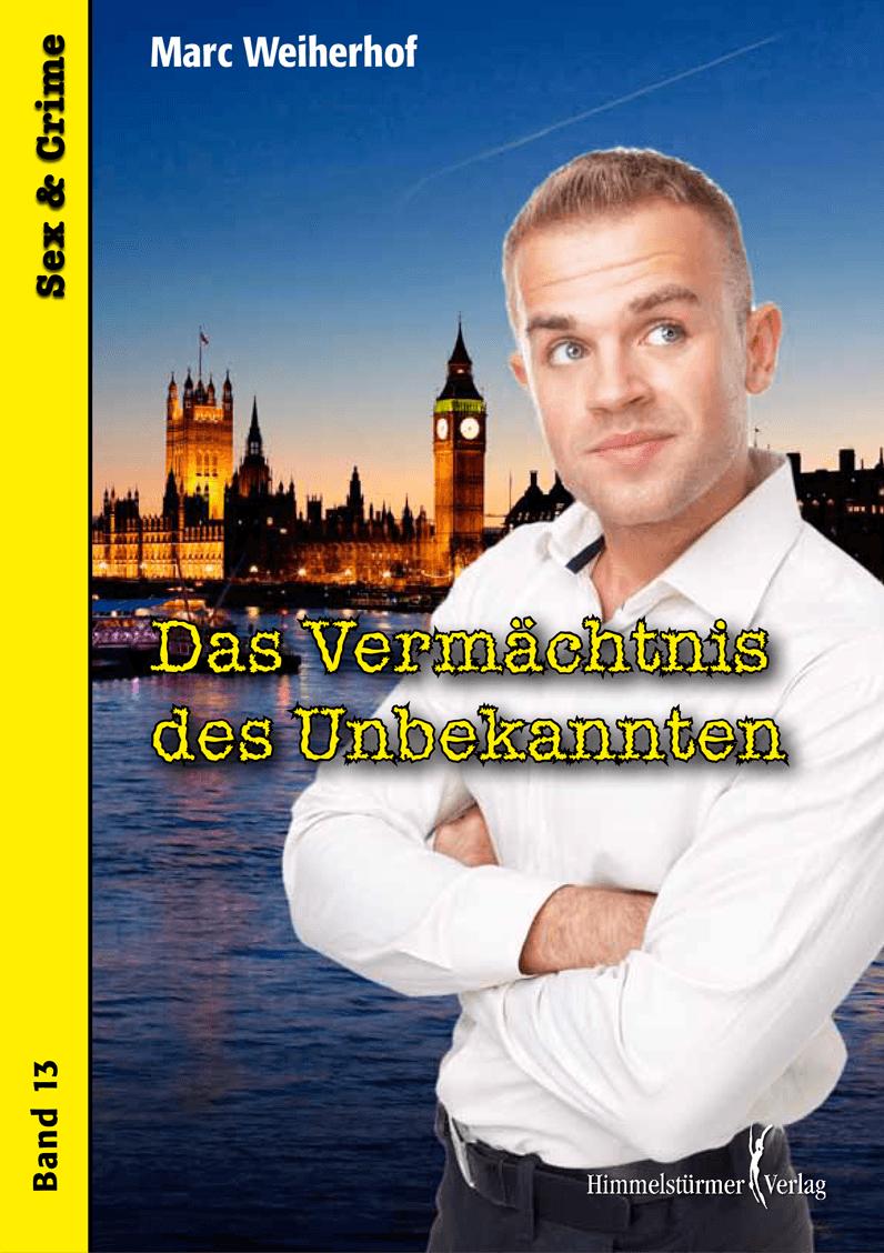 """Cover """"Das Vermächtnis des Unbekannten"""""""