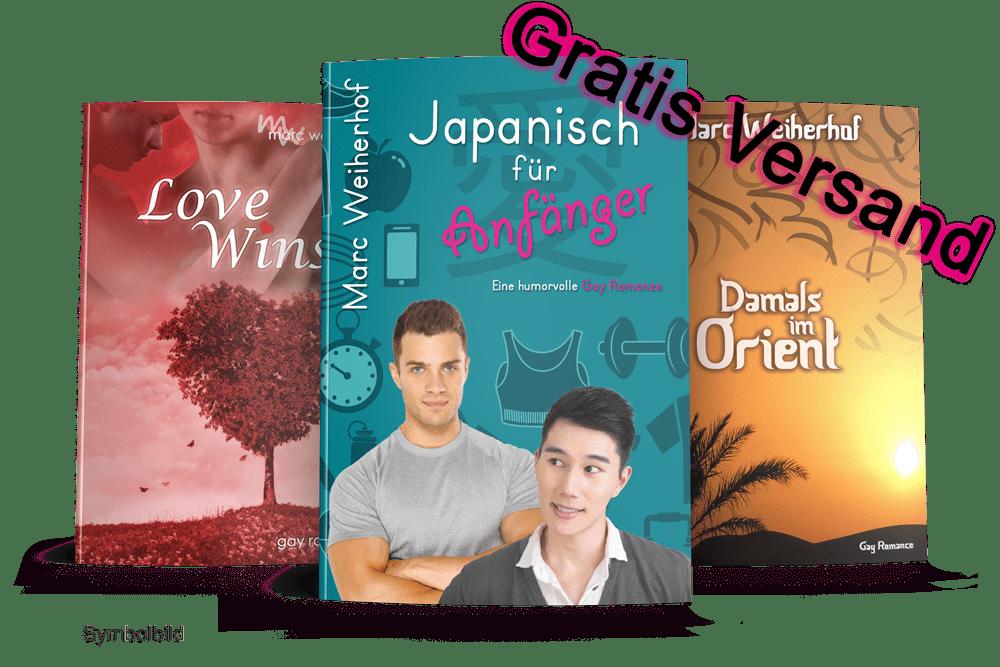 Buchbundle Eins (Japanisch für Anfänger, LoveWins & Damals im Orient)