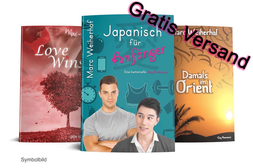 Buchbundle (Japanisch für Anfänger, Damals im Orient, LoveWins)