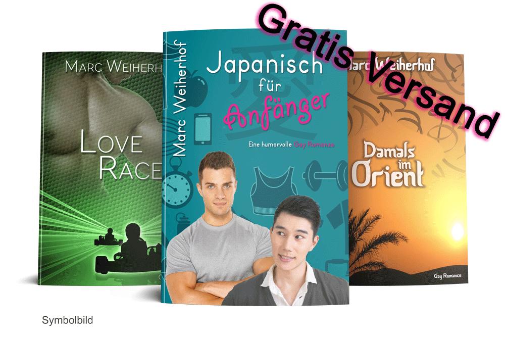 Buchbundle Zwei (Japanisch für Anfänger, Damals im Orient & Love Race)
