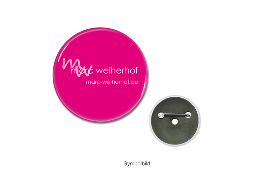 Button groß (pink)