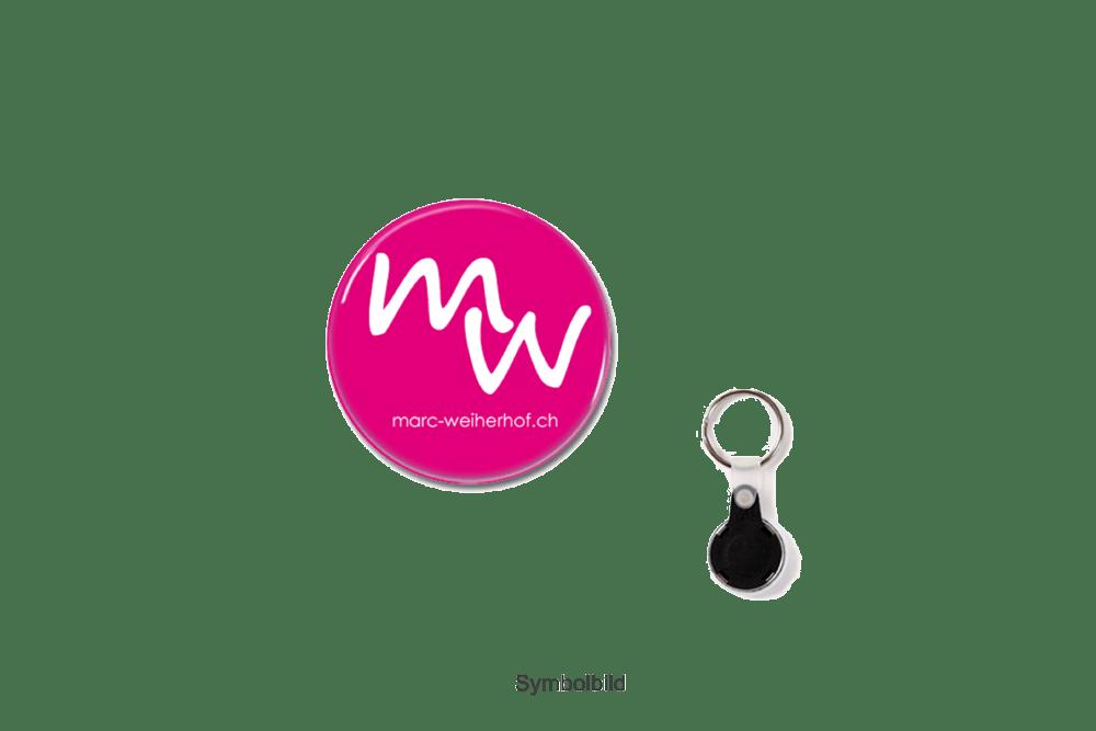 Schlüsselanhänger (grau oder pink)