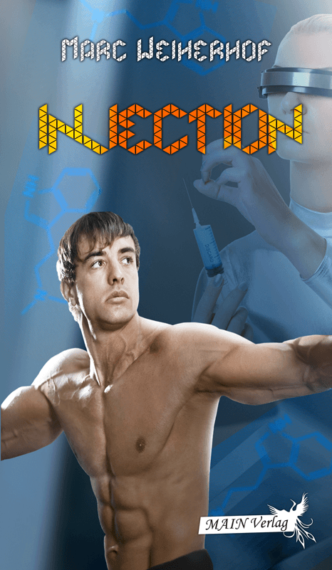 Injection Cover, MAIN Verlag, Marc Weiherhof, schwule Literatur, gay, Romance