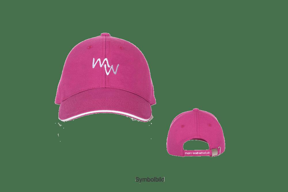 Baseballmütze in pink (unisex)
